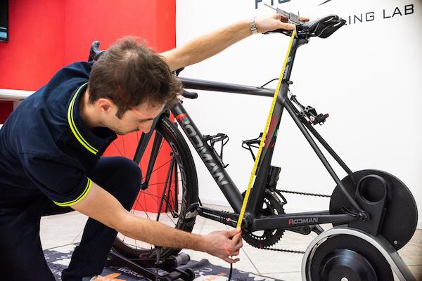 rilevamento misure bici