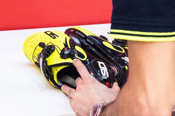 posizionamento tacchette ciclismo